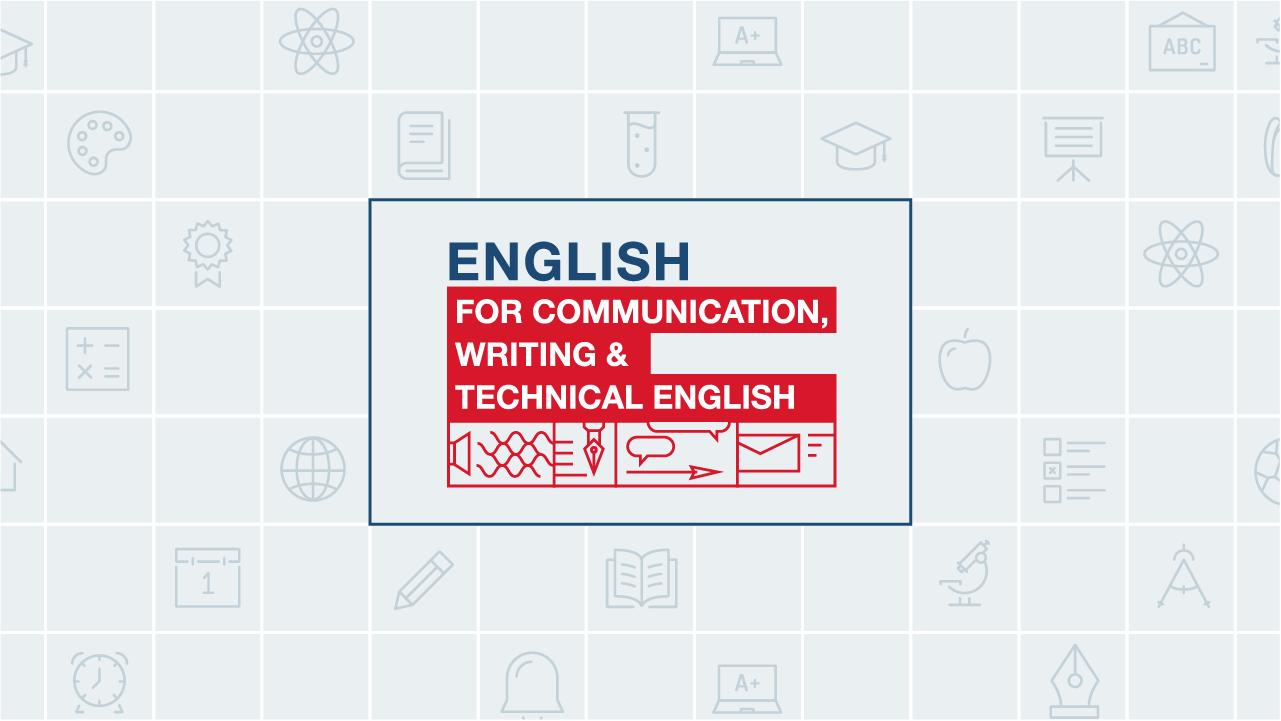 คอร์ส English for Communication